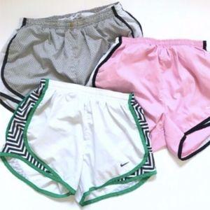Womens Nike Dry Tempo Running Shorts LOT XS Small